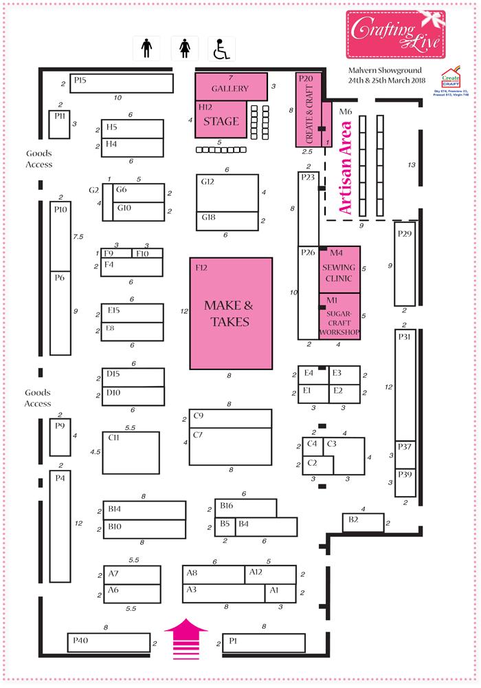 Malven Mar 2018 Show Plan
