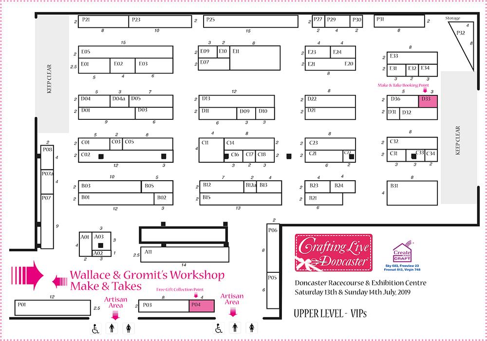 Doncaster Jul 2019 Show Plan