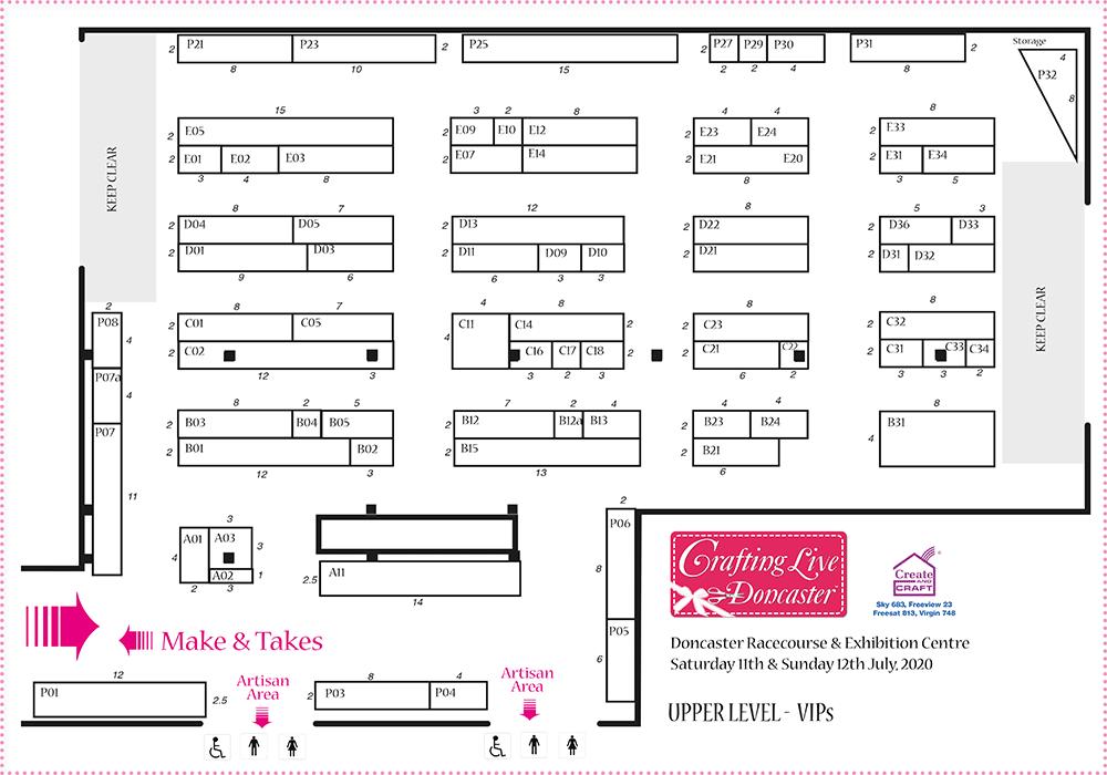 Doncaster Jul 2020 Show Plan