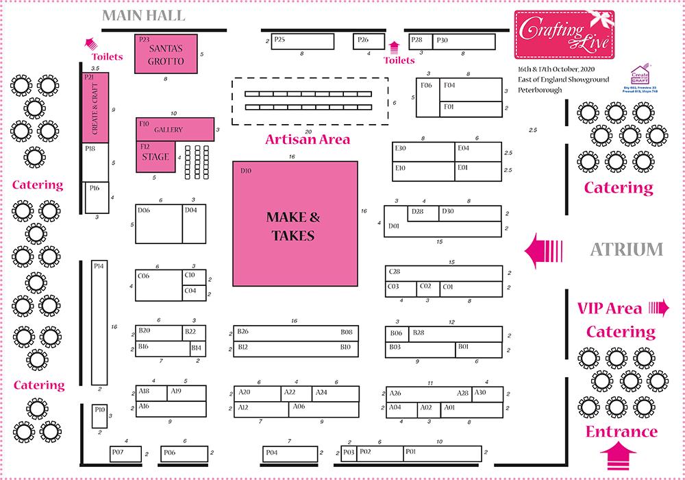 Peterborough Oct 2020 Show Plan
